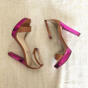 Michael Kors Pink Purple Block High Heel